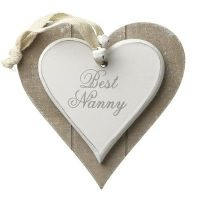 Heaven Sends - Hanging Heart - Best Nanny